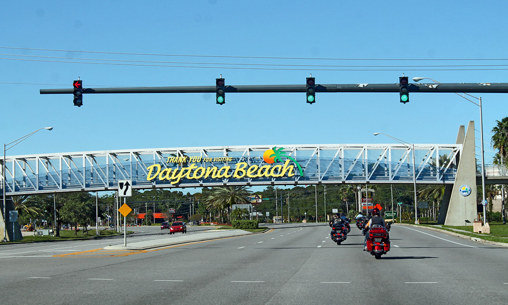 Motorrad-Reisen Florida - Tag 9: Cape Canaveral – NASA Weltraumbahnhof – Daytona Beach – Daytona