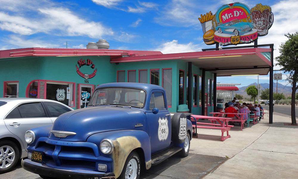 Motorrad-Reisen Rattlesnake Trail - Tag 10: Flagstaff – Seligman – Hackberry – Hoover Dam
