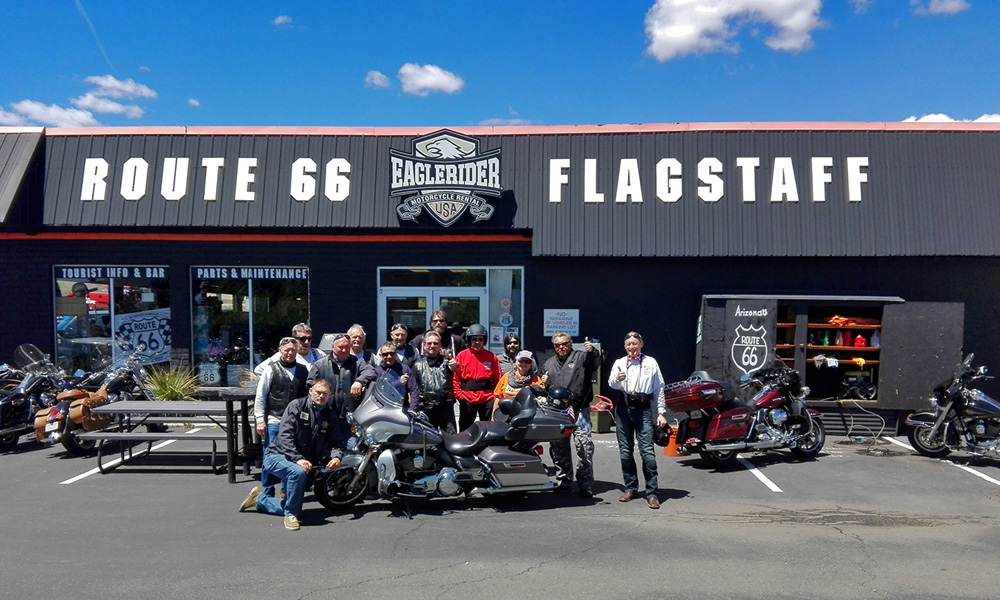 Motorrad-Reisen Rattlesnake Trail - Tag 9: Sedona – Flagstaff