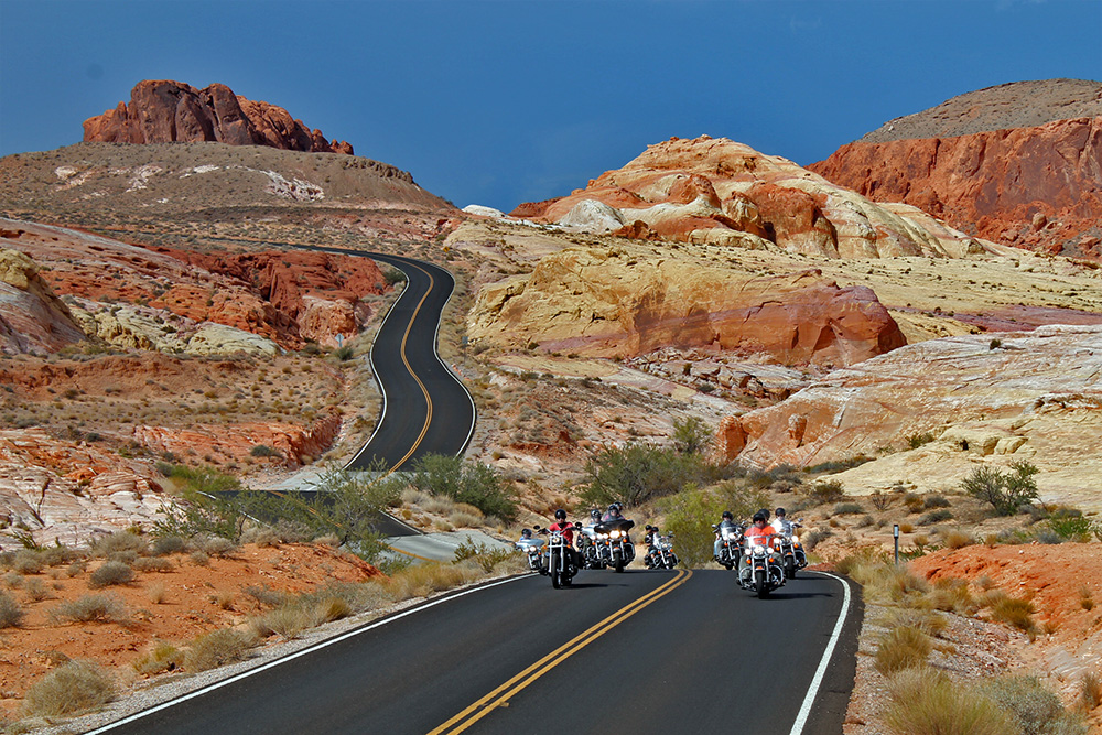 4 Staaten Biker Dreams - Valley of Fire