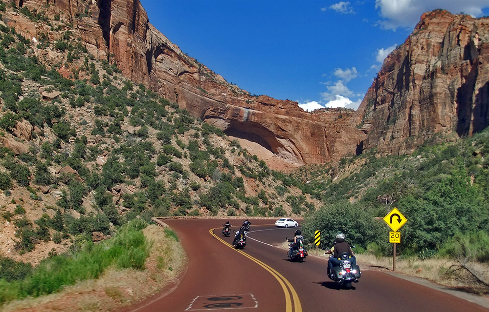 4 Staaten Biker Dreams - Zion National Park & Red Canyons