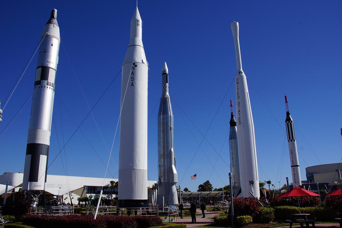 Cape Canaveral / NASA Weltraum-Bahnhof 50,-$