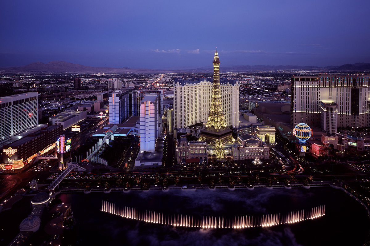 Las Vegas by night Helicopterflug 149,-$