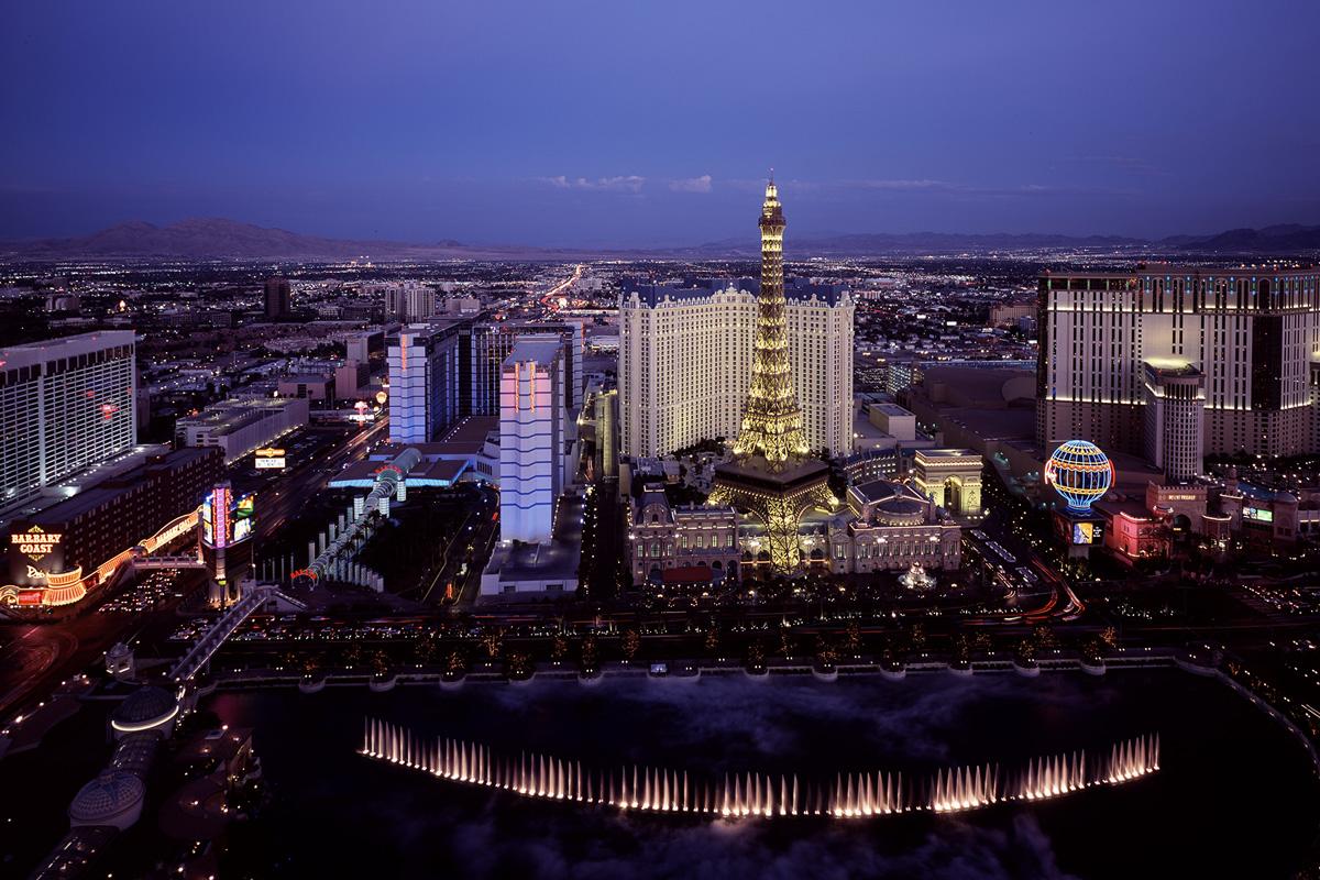 Las Vegas by night Helicopterflug 149,-$