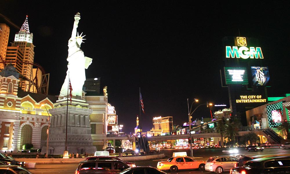 Motorrad-Reisen Big Adventure - Tag 1: Ankunft in Las Vegas
