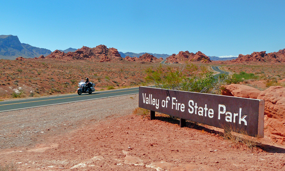 Motorrad-Reisen Big Adventure - Tag 13: Valley of Fire – Las Vegas