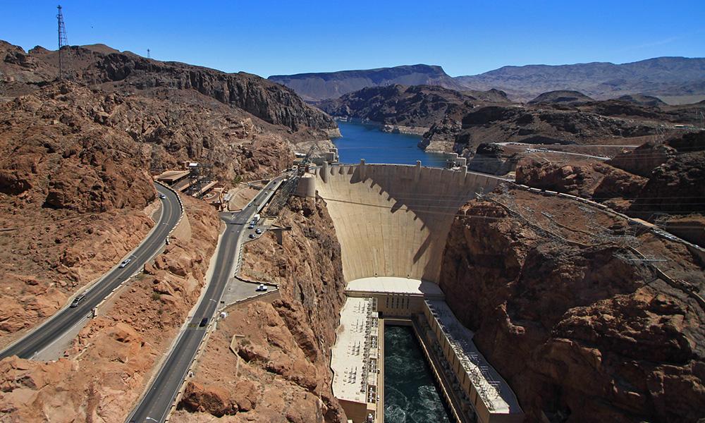 Motorrad-Reisen Big Adventure - Tag 2: Las Vegas – Hoover Dam – Kingman