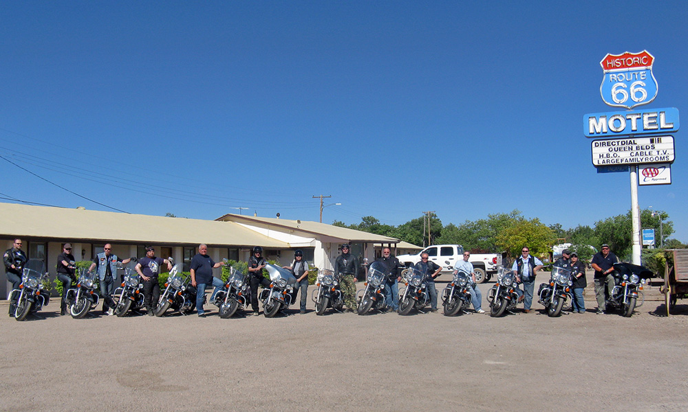 Motorrad-Reisen Big Adventure - Tag 3: Route 66 – Hackberry – Seligman