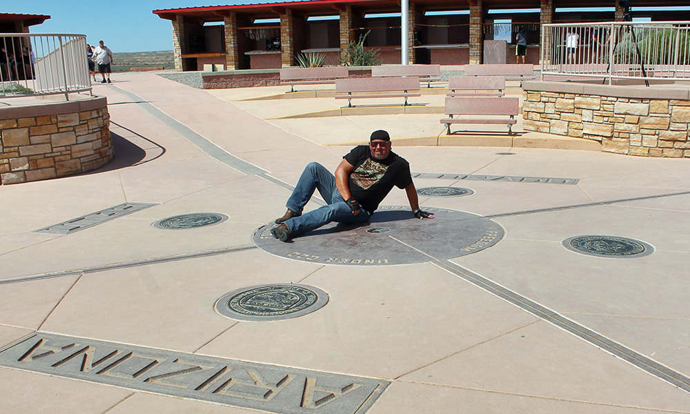 Motorrad-Reisen Big Adventure - Tag 5: Four Corners Monument – Mesa Verde Nationalpark
