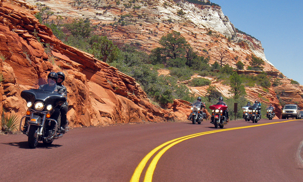 Motorrad-Reisen Big Loop - Tag 13: Zion Nationalpark – Las Vegas