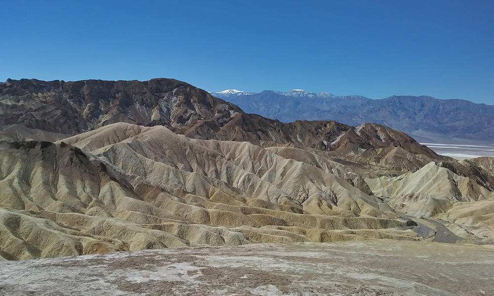Motorrad-Reisen Big Loop - Tag 3: Death Valley – Sierra Nevada – Bishop