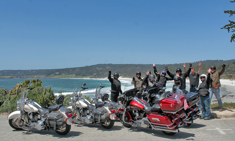 Motorrad-Reisen Big Loop - Tag 8: Pacific Grove – Carmel by the Sea – Cambria/San Simeon