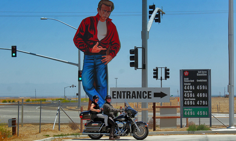 Motorrad-Reisen Big Loop - Tag 9: James Dean Memorial – Bakersfield – Mojave