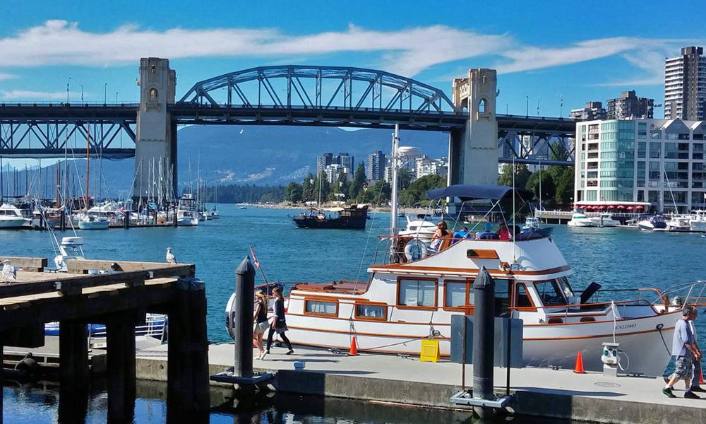 Motorrad-Reisen Kanada - Tag 1 Vancouver/Richmond