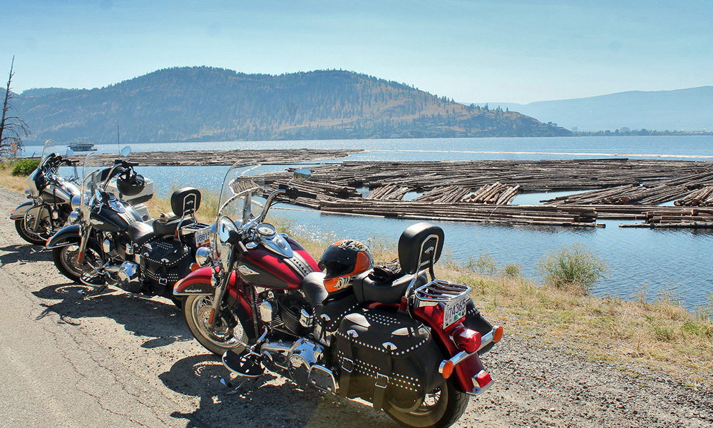 Motorrad-Reisen Kanada - Tag 10: Okanagan Lake – O`Keefe Ranch - Vernon - Kelowna