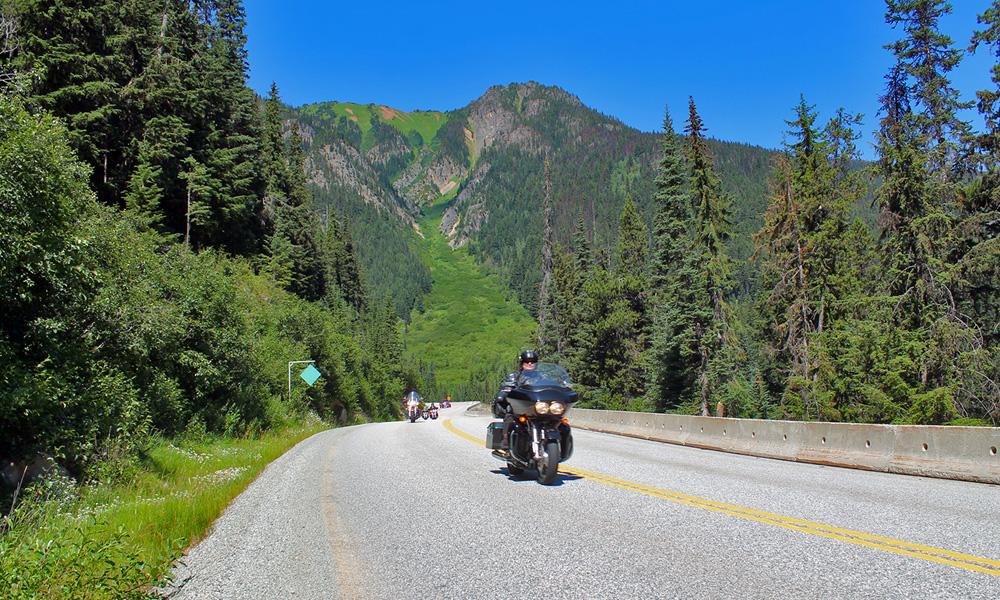 Motorrad-Reisen Kanada - Tag 11: Keremeos - Manning Park - Hope - Vancouver