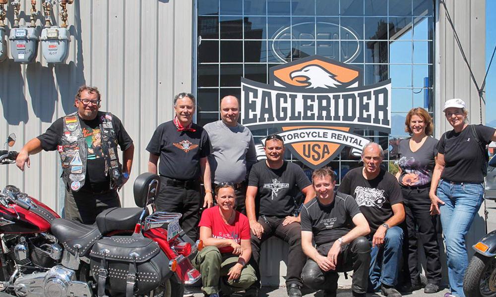 Motorrad-Reisen Kanada - Tag 12: Vancouver