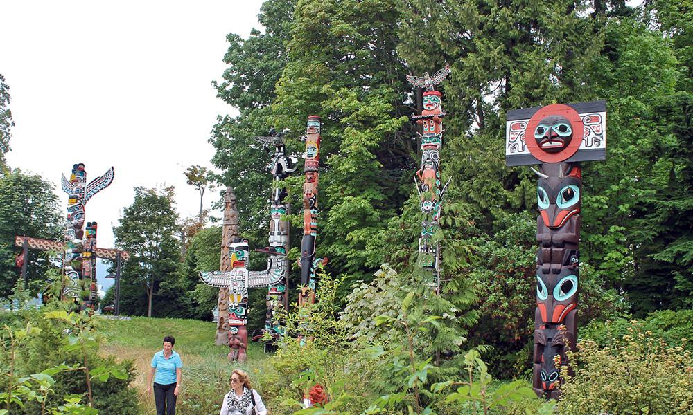 Motorrad-Reisen Kanada - Tag 2: Vancouver – Horseshoe Bay – Whistler