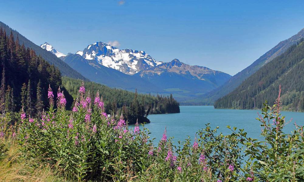 Motorrad-Reisen Kanada - Tag 3: Goldrausch-Tour – Lillooet - 100 Mile House