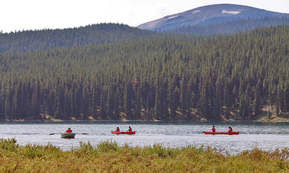 Motorrad-Reisen Kanada - Tag 5: Mount Robson – Jasper Nationalpark – Malinge Lake
