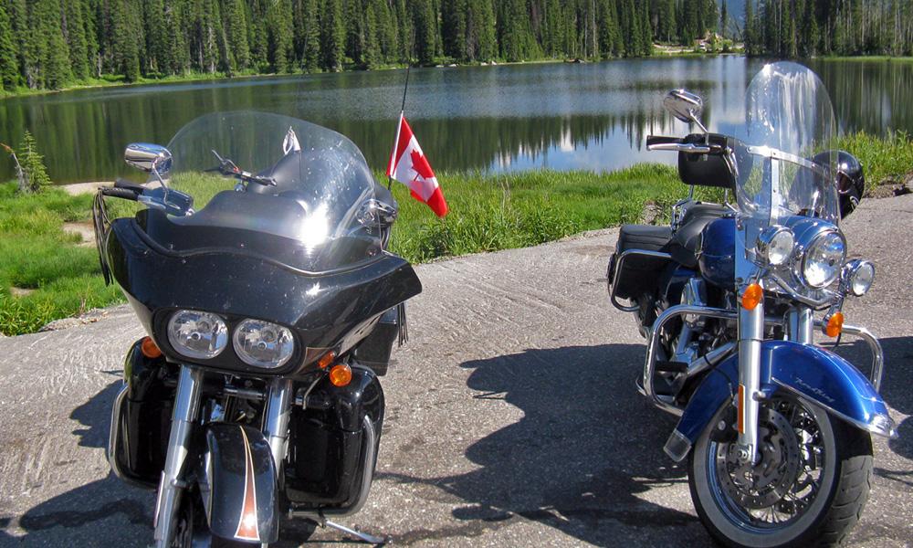 Motorrad-Reisen Kanada - Tag 9: Bonanza-Pass - Greenwood - Osoyoos - Summerland