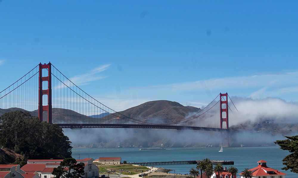 Motorrad-Reisen California Goldrush - Tag 11: Pacific Coast Highway 1 – Stinson Beach – Golden Gate Bridge – San Francisco