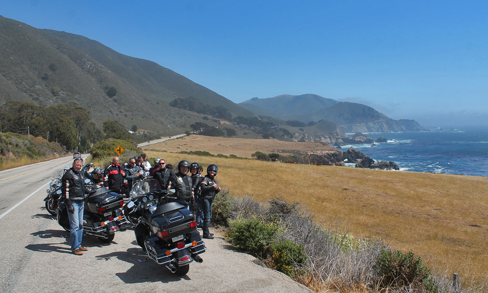 Motorrad-Reisen California Goldrush - Tag 2: San Francisco – Monterey – Pacific Coast Highway 1