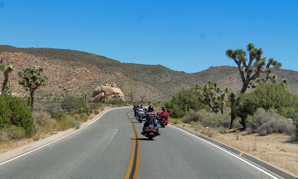 Motorrad-Reisen Bikercountry - Tag 10: Joshua Tree Nationalpark – Amboy – Route 66 – Laughlin