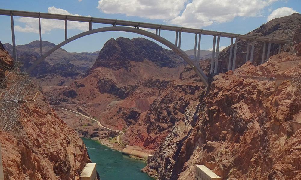 Motorrad-Reisen Bikercountry - Tag 11: Hoover Dam – Las Vegas
