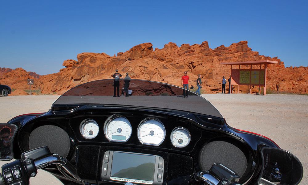 Motorrad-Reisen Bikercountry - Tag 2: Las Vegas – Red Rock Canyon – Pahrump