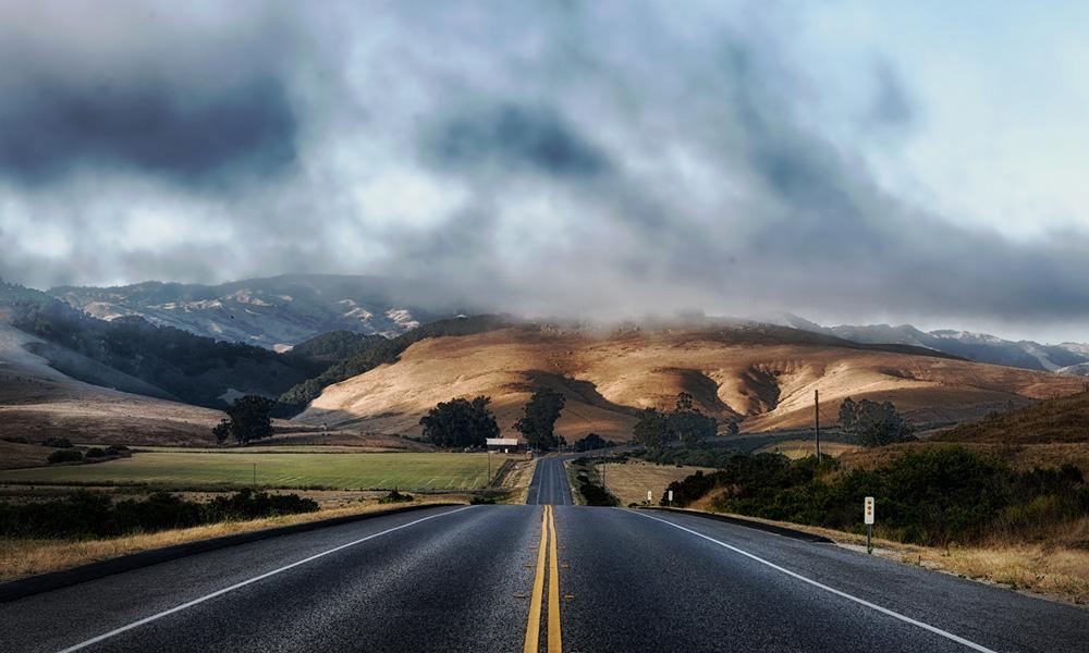Motorrad-Reisen Bikercountry - Tag 4: Bakersfield – Panoramastraße 25 – Hollister – San Francisco