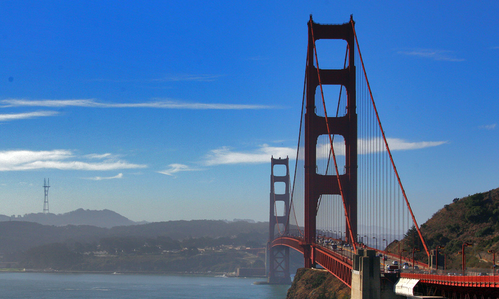Motorrad-Reisen Bikercountry - Tag 5: Golden Gate Bridge – San Francisco – Pier 39