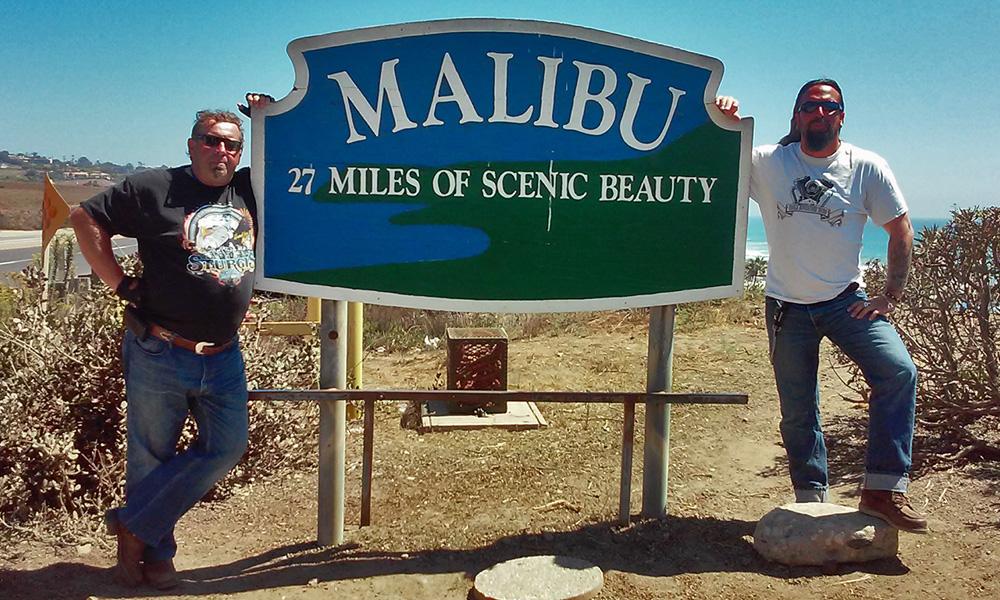 Motorrad-Reisen Bikercountry - Tag 8: Malibu – Santa Monica – Hollywood - Los Angeles – Huntington Beach
