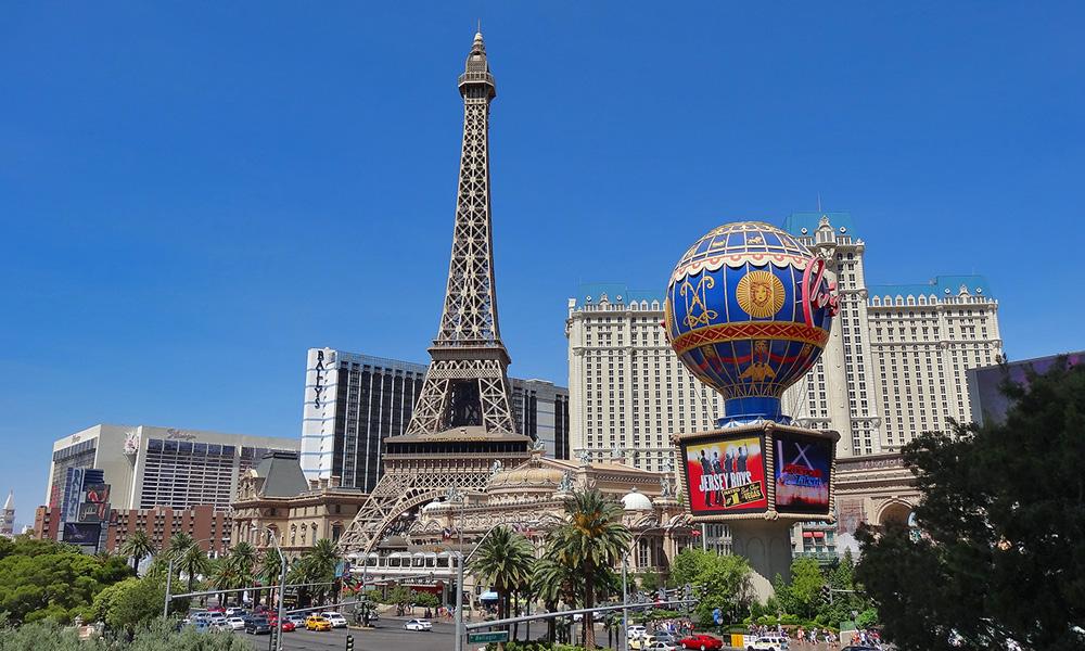 Motorrad-Reisen Golden Nugget Tour - 1. Tag - Las Vegas
