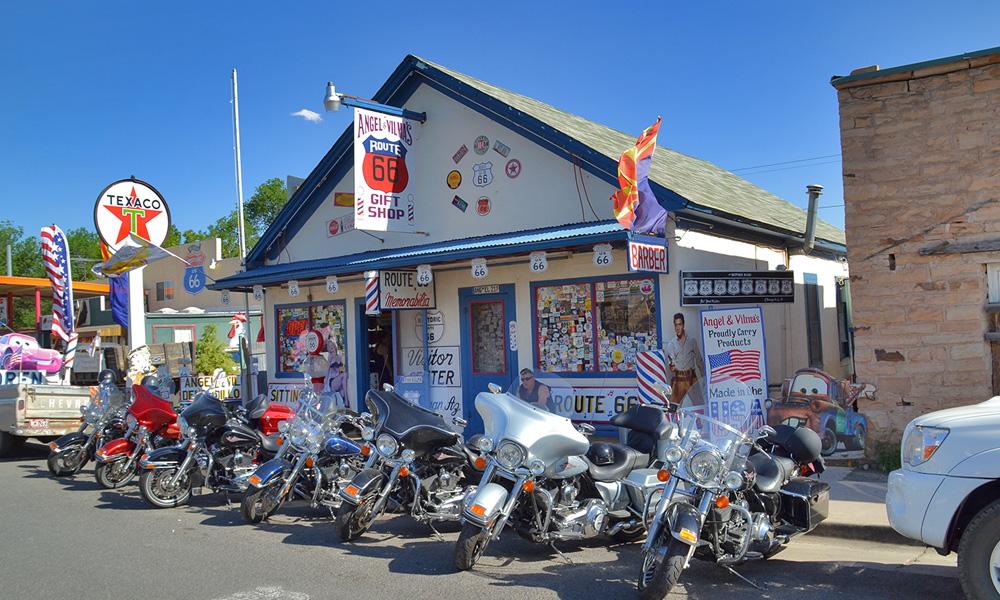 Motorrad-Reisen Golden Nugget Tour - 11. Tas: Route 66 – Seligman – Hackberry – Kingman – Hoover Dam - Las Vegas