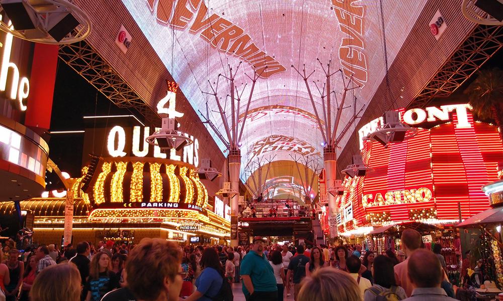 Motorrad-Reisen Golden Nugget Tour - 12. Tas: Las Vegas