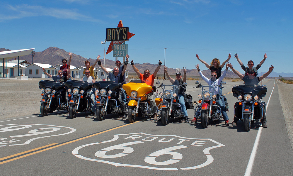 Motorrad-Reisen Golden Nugget Tour - 3. Tag: Amboy - Route 66 - Bagdad Cafe