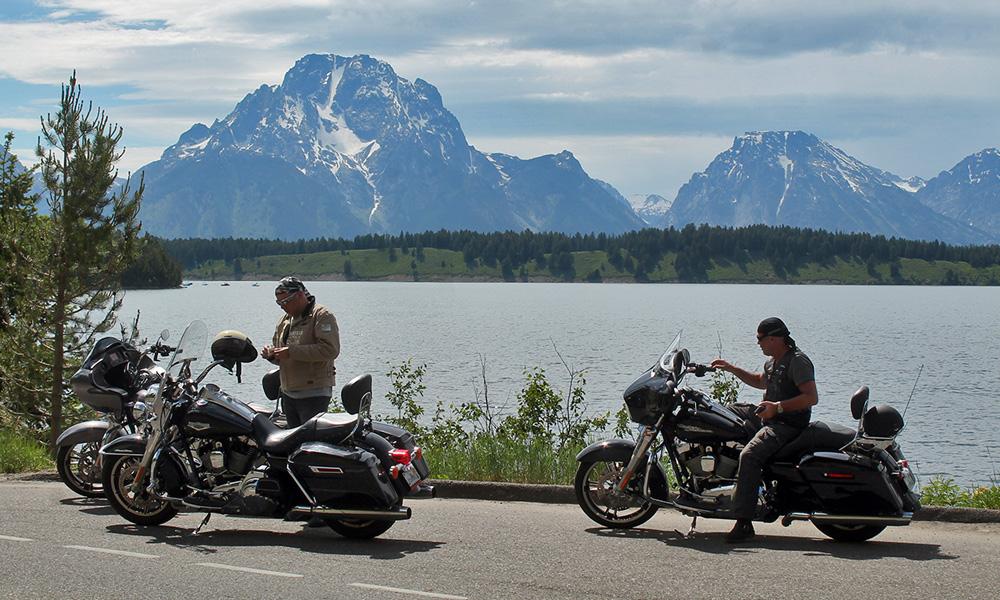 Motorrad-Reisen Rocky Mountains -