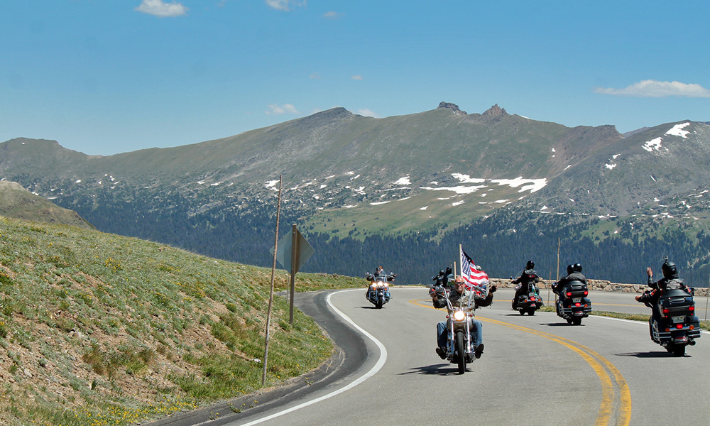 Motorrad-Reisen Rocky Mountains - Tag 7: Big Horn Mountains – Big Horn Canyon – Cody