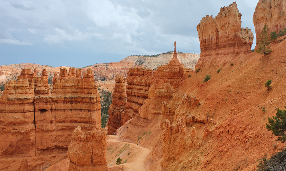 Bryce Canyon Nationalpark – Scenic Highway 12 – Escalante – Bryce Canyon Areal