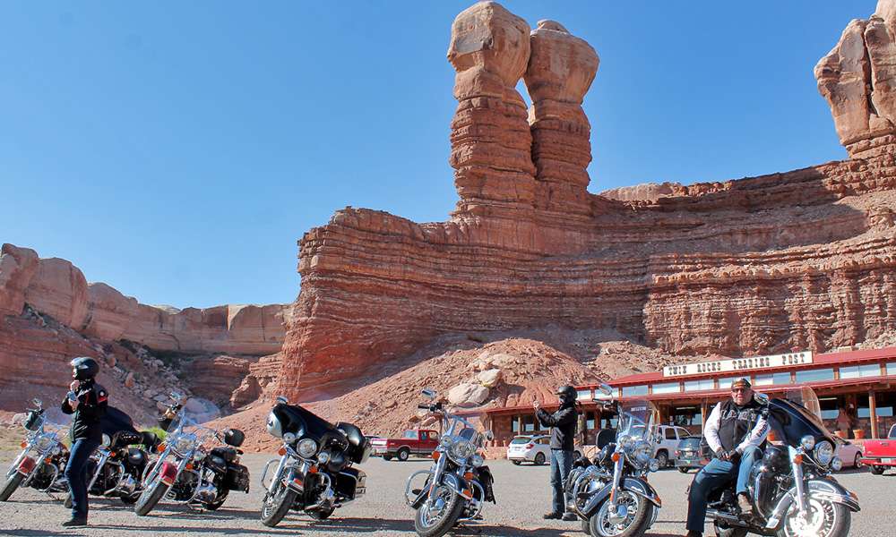 Motorrad-Reisen - The Stars of America - Tag 10: Bluff – Moab – Arches Nationalpark