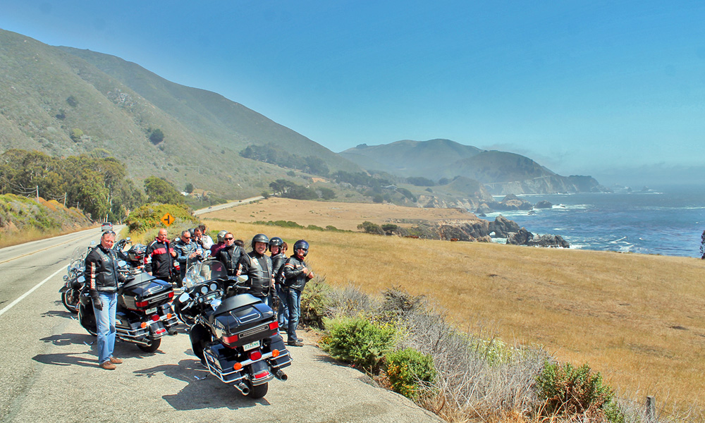 Motorrad-Reisen - The Stars of America - Tag 3: Pacific Cove – Carmel by the Sea – Pacific Coast Highway 1 – Solvang
