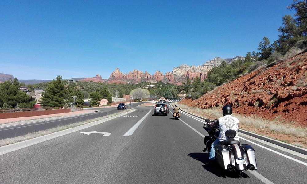 Motorrad-Reisen - The Stars of America - Tag 7: Freizeit oder Halbtages-Tour nach Flagstaff und Sedona