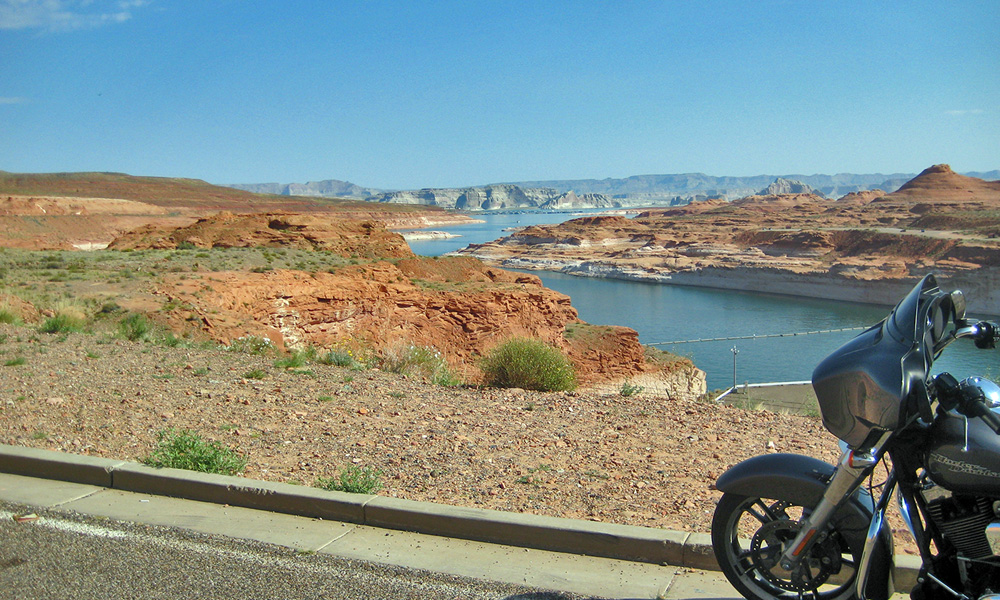 Motorrad-Reisen - The Stars of America - Tag 8: Grand Canyon Nationalpark – Painted Desert – Najvao – Page am Lake Powell