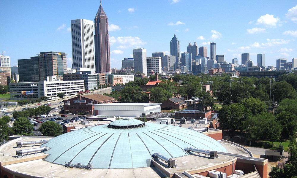 Motorrad-Reisen Historische Südstaaten - Atlanta – Coca Cola Museum – CNN - Peachstreet