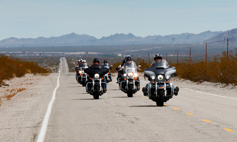 Motorrad-Reisen Süd-West Classic - 9. Tag: Route 66 - Needles – Amboy – Bagdad