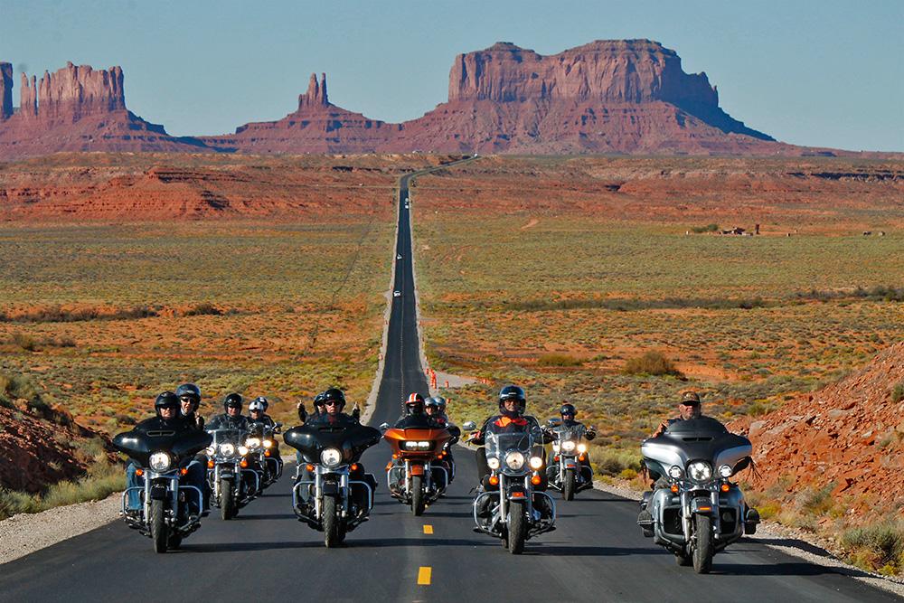 Amerika Heller - Motorradreisen in den USA