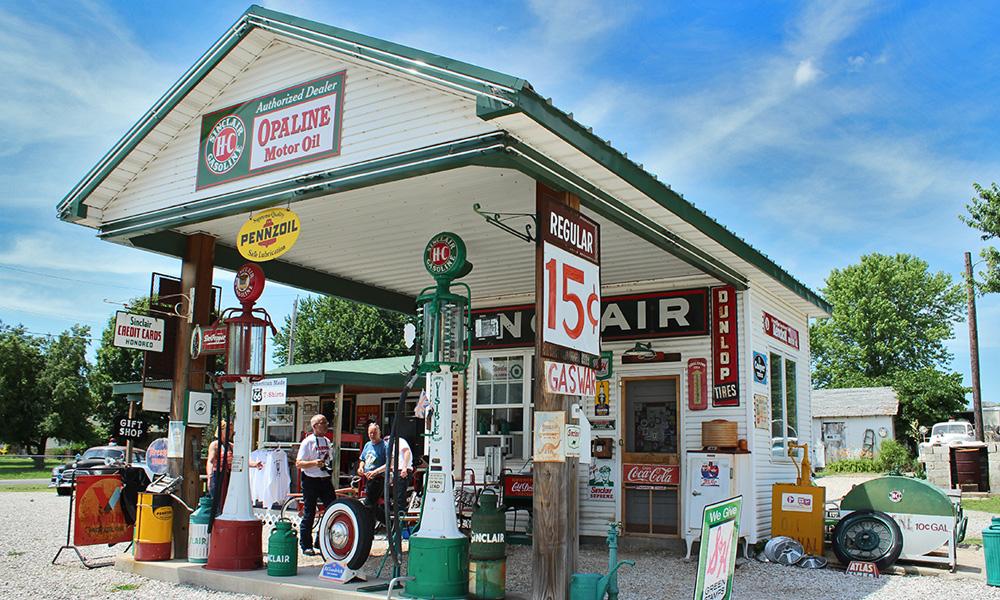 Route 66 - USA Motorradtouren mit der Harley - Tag 4
