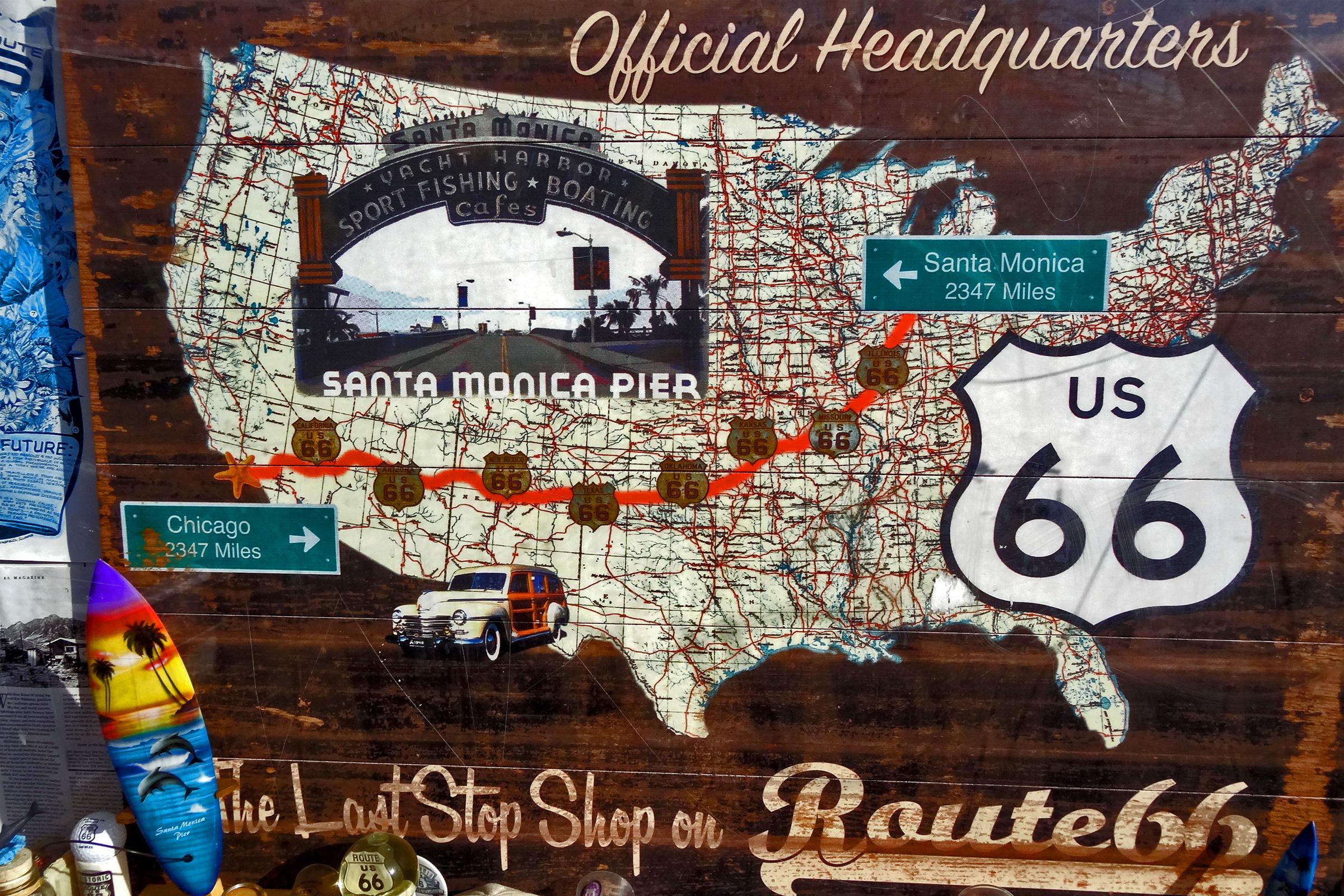 Route 66 Motorradreisen