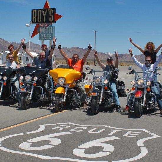 Route 66 Motorrad-Tour | Amerika Heller Motorrad-Reisen USA